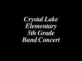 CLE 5th Grade Band Concert
