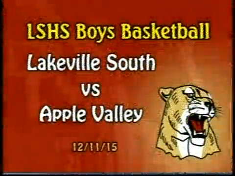 LSHS Boys Basketball vs Apple Valley