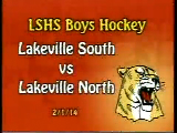 LSHS Boys Hockey vs LNHS