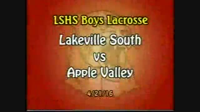LSHS Boys Lacrosse vs Apple Valley