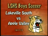 LSHS Boys Soccer vs Apple Valley
