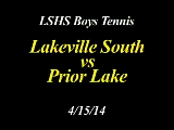 LSHS Boys Tennis vs Prior Lake