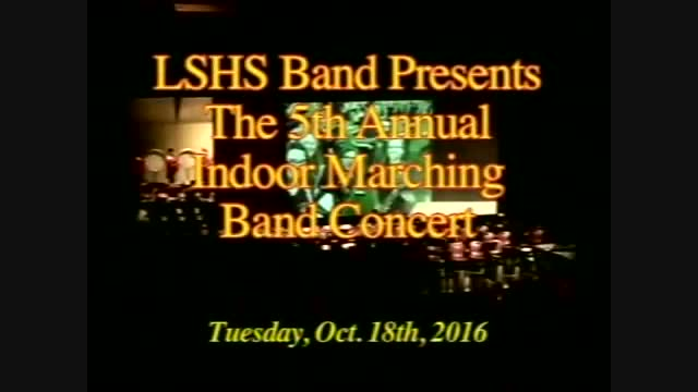 LSHS Fall Marching Band Concert