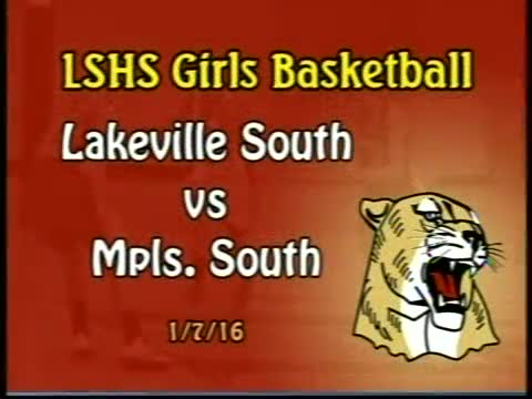 LSHS Girls Basketball vs Mpls. South