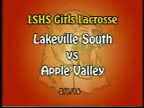 LSHS Girls Lacrosse vs Apple Valley