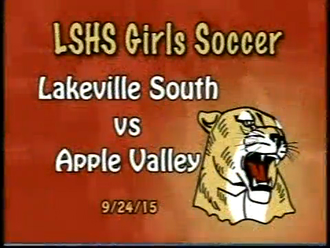 LSHS Girls Soccer vs Apple Valley