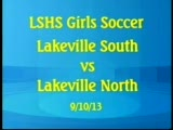 LSHS Girls Soccer vs LNHS