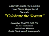 LSHS Holiday Choir Concert