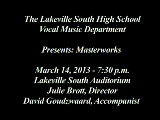 LSHS Winter Choir Concert