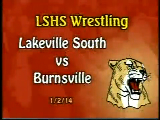 LSHS Wrestling vs Burnsville