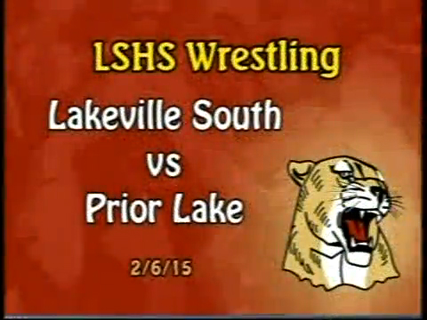 LSHS Wrestling vs Prior Lake