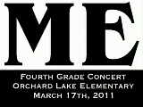 Orchard Lake Elementary 4th Grade Concert