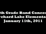 Orchard Lake Elementary 5th Grade Band Concert