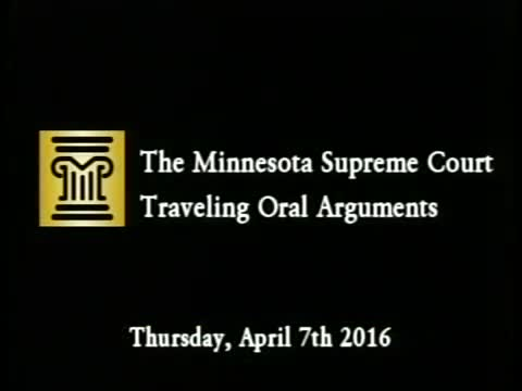 Minnesota Supreme Court Traveling Oral Arguments